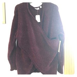 Sweaters - Wrap sweater